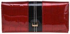 Женский кошелек кожаный Laras K10a0001bb Красный (ROZ6400011260)