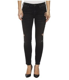 Джинси Mavi Jeans Adriana Mid-Rise Ankle Super Skinny in Smoke Rose Embroidery Smoke Rose Embroidery, 25W 32L (11155676)