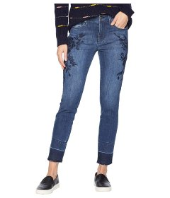 Джинси Liverpool Sadie Ankle Released Hem Embroidered in Super Stretch Comfort Denim Jeans in Montauk Mid Blue Montauk Mid Blue, M (44) (10796993)