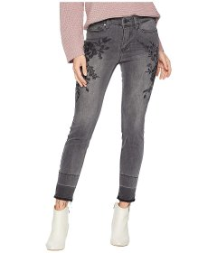 Джинси Liverpool Sadie Ankle Released Hem Embroidered in Soft Stretch Denim in Titanium Wash Black, L (46) (10219519)
