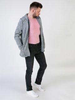 Чоловічі джинси LIVERGY 54 темно сірий F01-370003