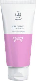 Гель для лица Lambre Pure therapy face wash gel dry and sensitive skin Очищающий для сухой и чувствительной кожи 120 мл (3760106027949)