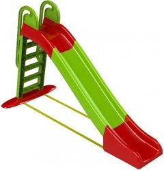 Горка Active Baby детская Зелено-красная 243 см (01-014550/0101) (4822003281233)