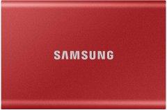 Samsung Portable SSD T7 2TB USB 3.2 Type-C (MU-PC2T0R/WW) External Red