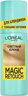 Спрей для закрашивания отросших корней L'Oréal Paris Светлый блонд 75 мл (3600523735891)