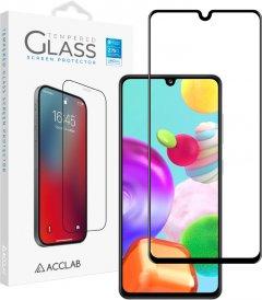 Защитное стекло ACCLAB Full Glue для Samsung Galaxy A41 Black (1283126508585)