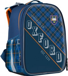 Рюкзак школьный каркасный YES H-25 мужской 0.85 кг 35х26х16 см 15 л Oxford (555370)