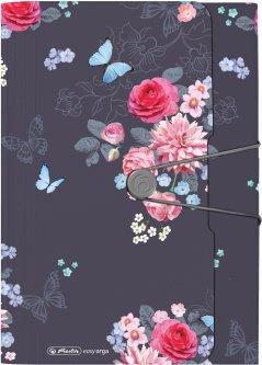 Папка с отделениями Herlitz Ladylike Flowers А4 12 отделений (50021611)