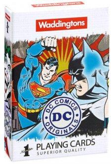 Набор игральных карт Winning Moves Waddingtons DC Comics Retro (5036905022446)