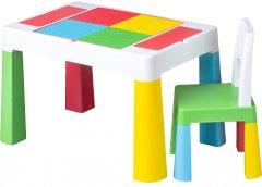 Комплект Tega Multifun стол + 1 стул MF-001 Multicolor (Tega MF-001 multi) (5902963015891)
