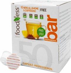 Капсульный напиток Foodness Шафран с лимоном и черным чаем 50 капсул Dolce Gusto по 14 г (8031848005799)
