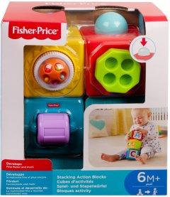 Двигающиеся кубики Fisher-Price Яркие (DHW15)