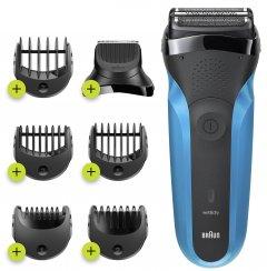 Электробритва-триммер BRAUN Series 3 310BT Wet&Dry black/blue