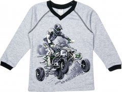 Пуловер Z16 3ІН108-3 (2-130) 146 см Сірий (31010832130146)