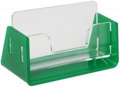 Визитница одинарная Wissaider Двухэлементная (акрил 3 мм) + зеленая 6N570 основа 3 мм (WiS-049)
