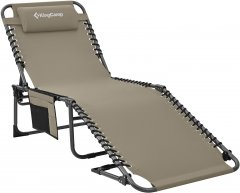Раскладушка KingCamp Classic Adjustable Cot (KC2019) Бежевая (KC2019 BEIGE)