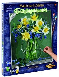 Набор художественного творчества Schipper Букет весенних цветов 40 х 50 см (9130789) (4000887917893)