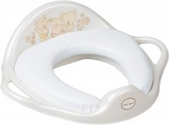 Накладка на унитаз мягкая Tega Baby Mis MS-020 White Pearl (5902963009005) (Tega MS-020 White pearl)