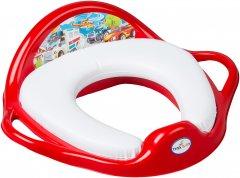 Накладка на унитаз мягкая Tega Baby Cars CS-020 Red (5902963006875) (Tega CS-020 red)