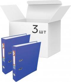Набор папок-регистраторов KLERK А4 55 мм Арочных Синих 3 шт (Я44410_KL0116-BL_3)