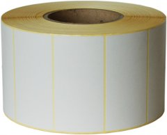 Этикетка Aurika Vellum 97х48.8 мм 3000 этикеток прямоугольная 1 шт White (GAM700621)