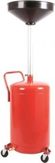 Установка для слива масла металлическая G.I.KRAFT 80 л (B80S)