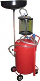 Установка для слива и вакуумной откачки масла с мерной колбой G.I.KRAFT 80 л (B8010KVS)