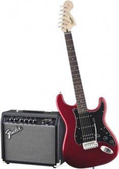 Гитарный набор Fender Squier Strat Pack HSS LRL Candy Apple Red (227896)
