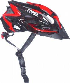 Велосипедный шлем TRINX TT07 L 58 - 61 см Black-Red (TT07.black-red.l)