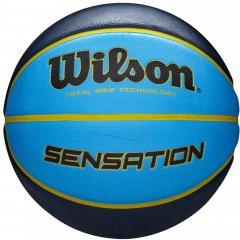 Мяч баскетбольный Wilson Sensation SR 295 Size 7 Orange/Blue (WTB9118XB0702)