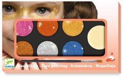 Грим для лица Djeco палитра 6 цветов Металлик (DJ09232) (3070900092327)