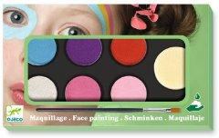 Грим для лица Djeco палитра 6 цветов Нежность (DJ09231) (3070900092310)