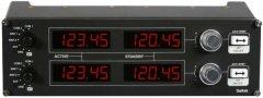 Приборная панель Logitech G Saitek Pro Flight Radio Panel (945-000011)