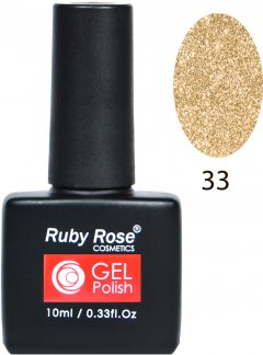 Гель-лак для ногтей Ruby Rose Gel Polish №033 10 мл (4823083014322)