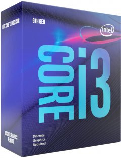 Процессор Intel Core i3-9100F 3.6GHz/8GT/s/6MB (BX80684I39100F) s1151 BOX