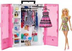 Игровой набор Barbie Шкаф-чемодан для одежды (GBK12)