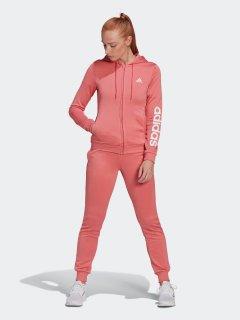 Спортивный костюм Adidas W Lin Ft Ts GM5578 XS Hazros/White (4064045315679)