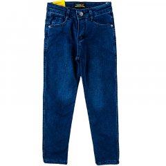 Джинси утеплені для хлопчика SERCINO 12463 128 см синій джинс (387490)