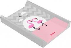 Пеленальная доска Sensillo Lovely Friends Flamingi (Sillo-1252)