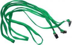 Набор шнурков для бейджей Agent D002 A 50 шт Зеленый (6927920171273)