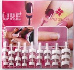 Набор типс для френча Dashing Diva French Wrap Plus Thin White Trial Size 28 шт (0961000000028)