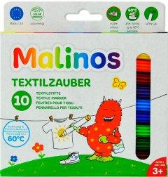 Фломастеры текстильные Malinos Textil 10 шт (MA-300010) (4260189064163)