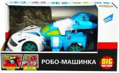 Машинка Big Motors Робо-машинка Гоночная Синяя (D622-H046A) (4812501162950)