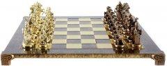 Шахматы Manopoulos Мушкетеры в деревянном футляре венге 44 х 44 см 8.4 кг (S12CBRO)