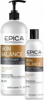 Кондиционер для волос Epica Skin Balance Регулирующий работу сальных желез 300 мл (4630061621812)