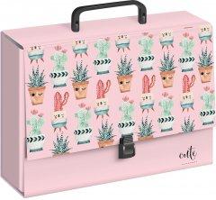 Папка-портфель Interdruk Girls Tutti Frutti А4 Картонная ламинированная с ручкой (237385G1)
