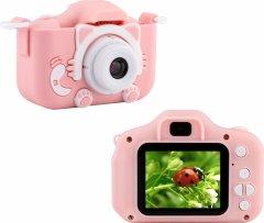 Цифровой детский фотоаппарат Atrix Tiktoker 4 Dual Cam 20 Mp 1080p Pink (cdfatxtt4p)