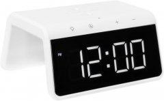 Настольные смарт-часы GELIUS Pro Smart Desktop Clock Time Bridge GP-SDC01 с функцией беспроводной зарядки и ночника (2099900814006)