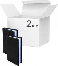 Упаковка визитниц KLERK на 120 визиток 185x108x20 мм Черных 2 шт (Я44699_KL3003_2)