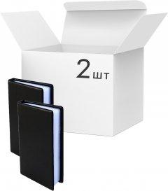 Упаковка визитниц KLERK на 180 визиток 185x108x20 мм Черных 2 шт (Я44700_KL3004_2)